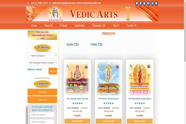 Vedic Arts & Crafts Promotion Pvt. Ltd.