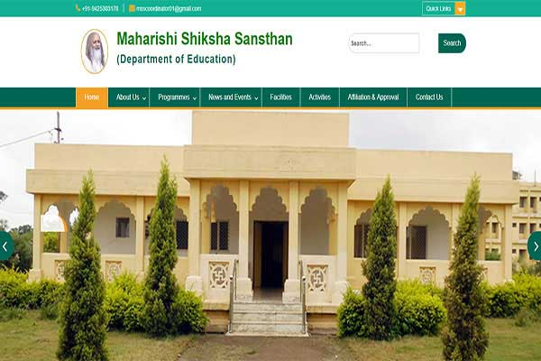 Maharishi Shiksha Sansthan (Department of Education) - Bilaspur