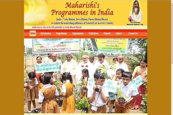 Maharishi's Programmes in India