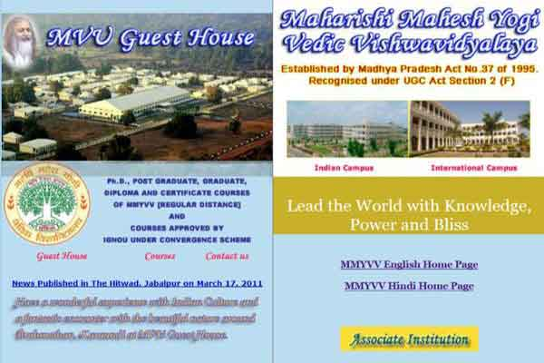Maharishi Vedic University Guest House