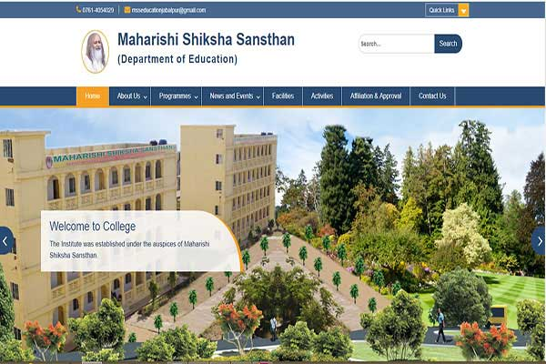 Maharishi Shiksha Sansthan (Department of Education) - Jabalpur