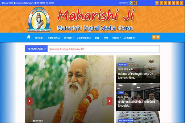 Maharishi Ji — Maharishi Digital Media House