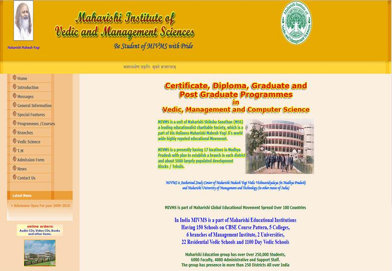 Maharishi Institute of Vedic and Management Sciences